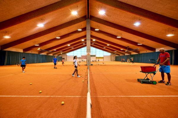 Jugendtraining Tennishalle Lustenau